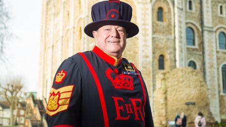 Yeoman Gaoler Jim Duncan took over the prestigious position from mid December Picture: HISTORIC ROY