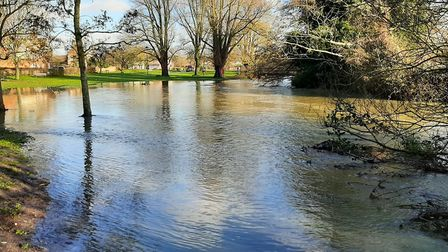 Flooding has left dozens of roads covered in water and debris, as well as waterlogging fields across