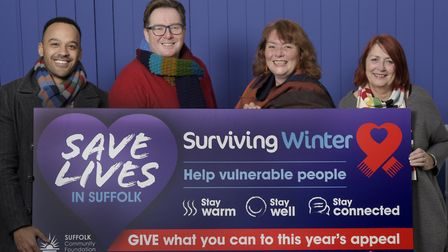 Suffolk Community Foundation has raised more than �40,000 in surplus winter fuel payments, helping t