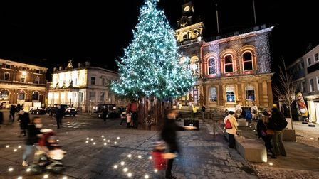 People across Suffolk will be travelling to see their loved ones ready for Christmas day tomorrow P