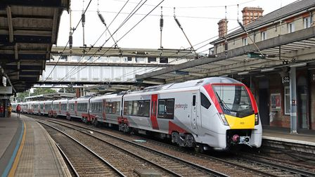 Greater Anglia hopes all its new Intercity trains will be in service by the end of March. Picture; J