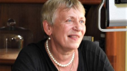 Councillor Caroline Page, founder and chairman of the Jetty Lane project. Picture: THE JETTY LANE PR