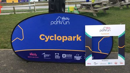 The Cyclopath parkrun, which welcomed a record field of 609 on NYD. Picture: CARL MARTON