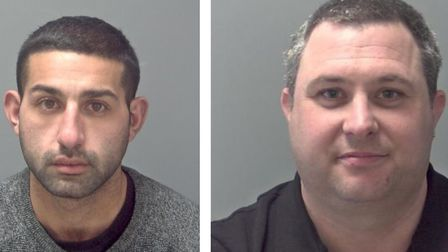 These are the men who have been put behind bars in Suffolk this week. Picture: SUFFOLK CONSTABULARY