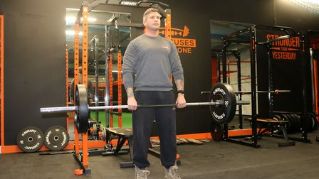 Owner of Iron Mighty, Leo Martin, has given his top tips for getting fit Picture: CHARLOTTE BOND