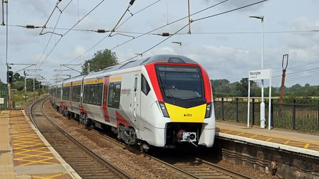 A new Intercity train at Manningtree station. Picture: JOHN DAY