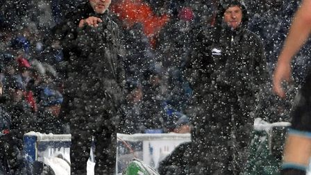 Then Town-boss Roy Keane was adamant that the game should be played - and finished.