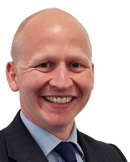 Craig Rivett, deputy leader of East Suffolk District Council and cabinet member for economic develop