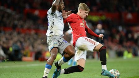 Callum Harriott loses out to Williams at Old Trafford Picture Pagepix
