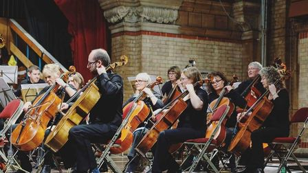 Ipswich Symphony Orchestra performing at Ipswich Corn Exchange Photo: ISO