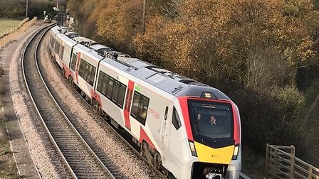 Greater Anglia's new trains were built without separate first class seats. Picture: HELEN BOTT