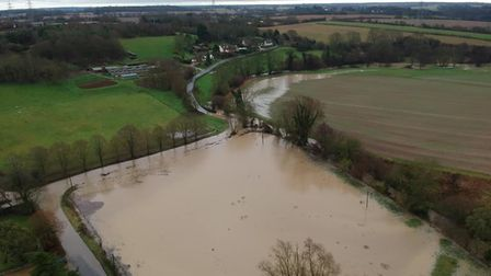 Flood alerts and warnings remain in place across Suffolk and along the banks of several rivers, incl