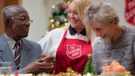 The Salvation Army will be providing Christmas lunches for those at its 'lifehouses' but chiefs want