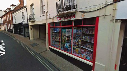 Toy Town on Church Street which has been a staple of the town for 40 years is now for sale Picture: