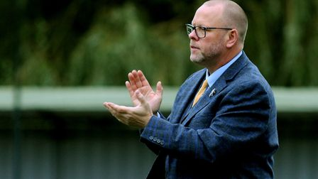 AFC Sudbury boss Mark Morlsey. The Yellows entertain Histon on New Year's Day. Picture: ANDY ABBOTT