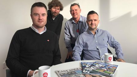 A recent panel on the non-league podcast. Fram assistant boss Andy Pirie, Carl Marston, Mike Bacon a
