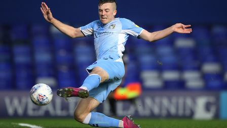 Ipswich Town are reportedly interested in Coventry City attacker Jordan Shipley. Photo: PA