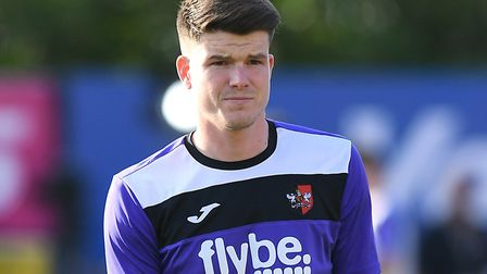 Ipswich Town have been linked to former Exeter City striker Liam McAlinden. Photo: PA