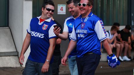 Will Ipswich Town fans be smiling come the end of the season as the club chases promotion back to th