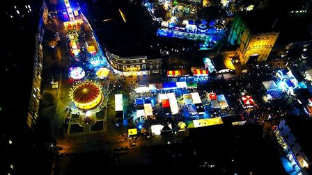 These beautiful photos show how magical the Bury St Edmunds Christmas fayre is each year. Pictures:
