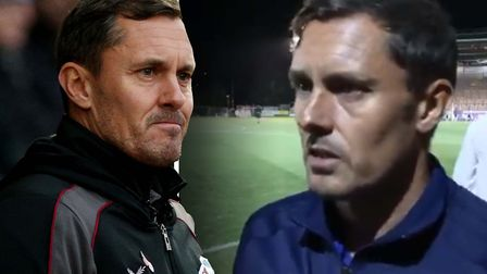 Paul Hurst, now in charge of Scunthorpe, was the Ipswich manager when they lost at Exeter last seaso