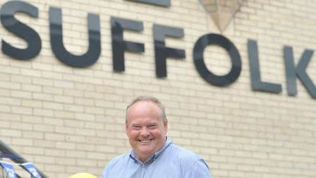 BBC Radio Suffolk's Mark Murphy is gearing up for Suffolk Day 2020 Picture: SARAH LUCY BROWN