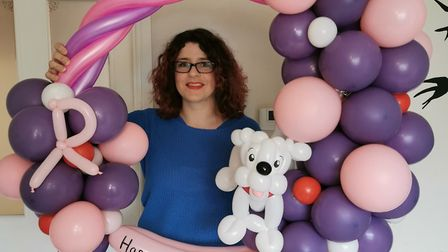 Emma Nettleton's life changed when she switched careers from finance to face painting and balloon ar