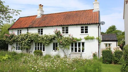 This cottage in Pin Mill has three bedrooms and a large garden - and is currently on the market for