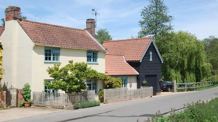 In The Street, in Newbourne, you can find a four-bedroom detached home with a large garden - and a g