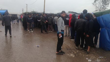 Some photos Jack Abbott took while in 'the jungle' refugee camp in Calais.