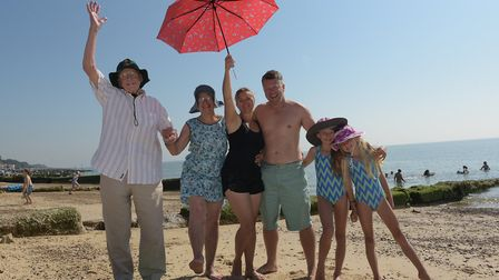 Suffolk has been named the eighth best holiday destination for families by the AA Picture: SARAH LU