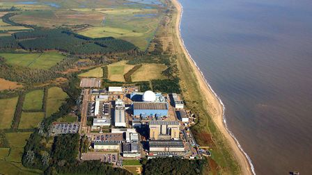 A professor has warned rising sea levels could mean Sizewell becomes surrounded by water in the futu
