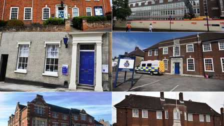 Police stations that have closed around Suffolk Picture: RUTH LEACH / BARKER STOREY MATTHEW / LUCY