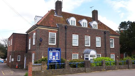 Beccles Police Station was up for sale PHOTO: Nick Butcher