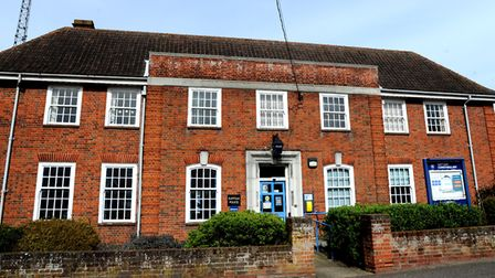 Leiston Police Station could be turned into affordable housing Picture: SIMON PARKER