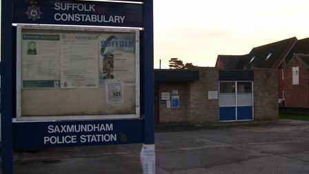 Saxmundham Police Station has been bought by the town council to become a community hub Picture: RIC