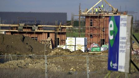 The scheme is to build 375 homes ion land north of Station Road in Lakenheath Picture: PA / RUI VIE