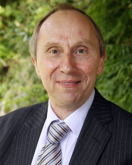 John Ward, leader of Babergh District Council and cabinet member for finance. Picture: PAUL NIXON