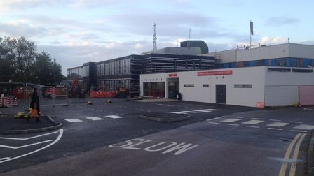 Colchester Hospital's A&E and urgent treatment centre, which has undergone a revamp recently Picture