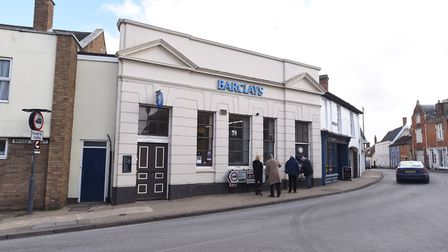 The Barclays in Eye was the final remaining bank in the town Picture: GREGG BROWN