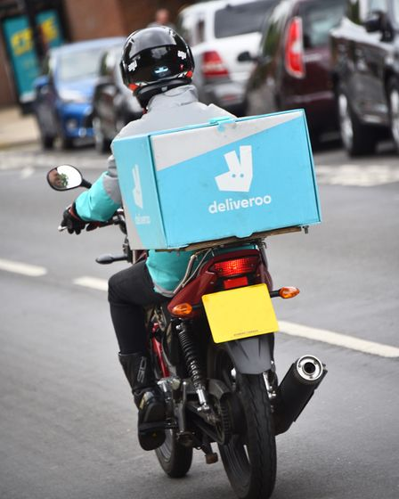 Deliveroo defined the decade with its city-friendly delivery model Picture : ANTONY KELLY