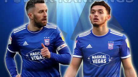 Cole Skuse and Andre Dozzell feature in the latest edition of the Ipswich Town Power Rankings