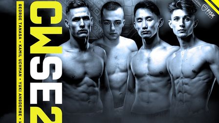 Cage Warriors Academy South East 25 in Colchester on March 7 will feature a four-man tournament to c