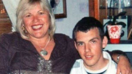 Melanie Leahy with her son Matthew Picture: SUPPLIED BY FAMILY