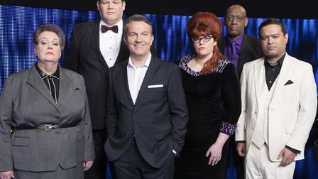 Susan Kathleen from Mildenhall appeared on The Chase on Tuesday, January 7 2020. Pictured: (l-r) Ann