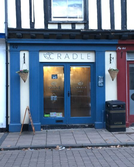 """The Cradle vegan cafe and bakery is doing """"really good"""" trade in North Street, Sudbury Picture: MARI"""