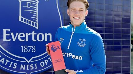 Lewis Gibson is set to join Ipswich Town on loan from Everton. Picture: PREMIER LEAGUE
