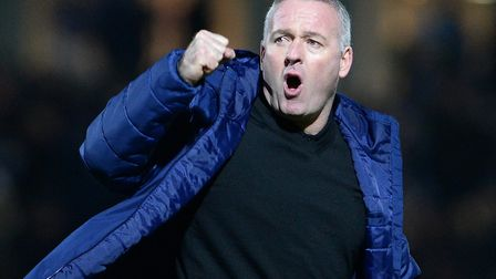 Town manager Paul Lambert and the Blues are still very much in the promotion race - and Dave Gooderh