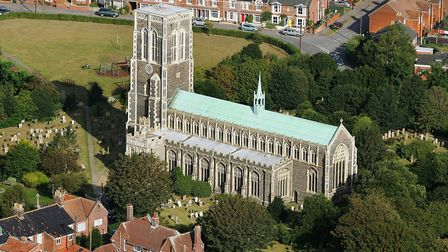 St Edmund's Church in Southwold is one of many places of worship to benefit from the scheme Picture: