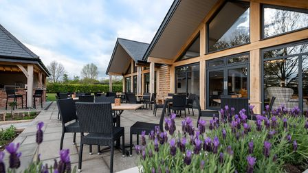 The terrace outside the cafe at Fynn Valley Picture: Adrydog Photography